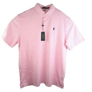 New Polo Ralph Lauren Sz XL Striped Pink Shirt